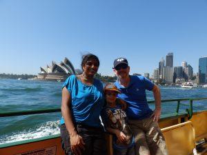 Familie Tellings in Australië