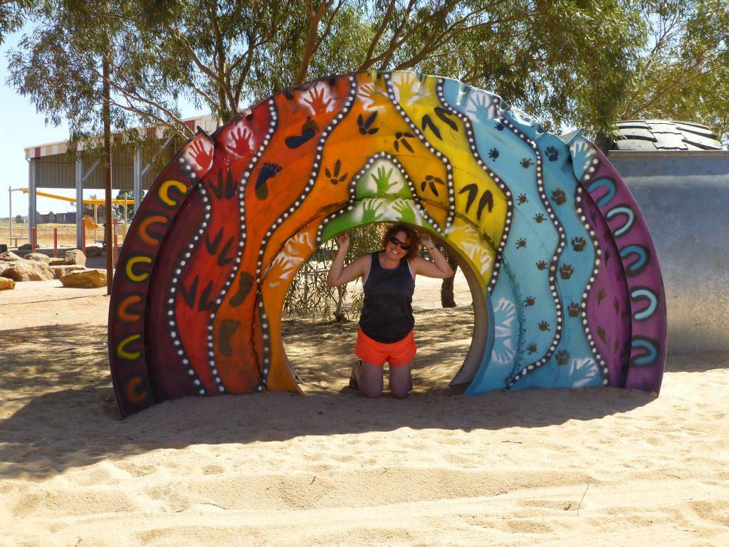 Foto Nancy in Adelaide